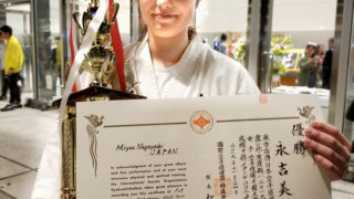 快挙!日本人女子初、無差別級世界チャンピオン誕生!!(2019/11/24)
