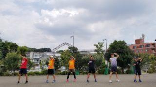 盛夏の青空稽古(2020/08/14)