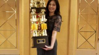 永吉美優選手、女子世界大会優勝祝賀会(2020/10/14)