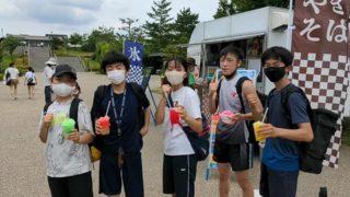 梅雨入り前に青空稽古(2021/06/13)